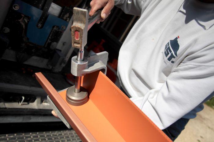GST Rénovation - Fabrication de la gouttière sur-mesure 2