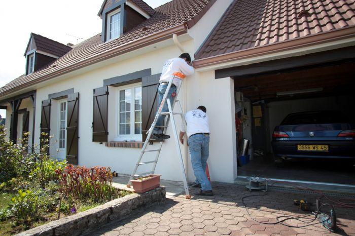 GST Rénovation - Ajustement avec l'évacuation des eaux