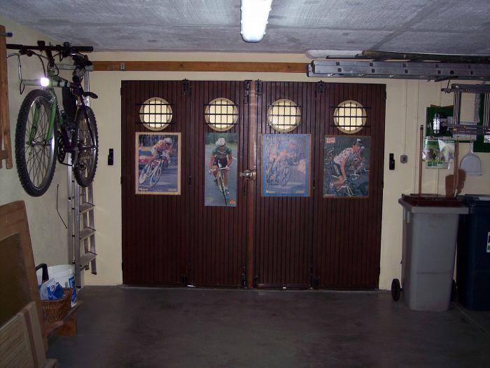 GST Rénovation - Changement de porte de garage sectionnelle vue de l'intérieur