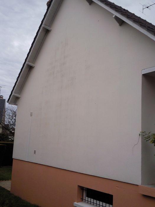 GST Rénovation - Ravalement facade vue de près