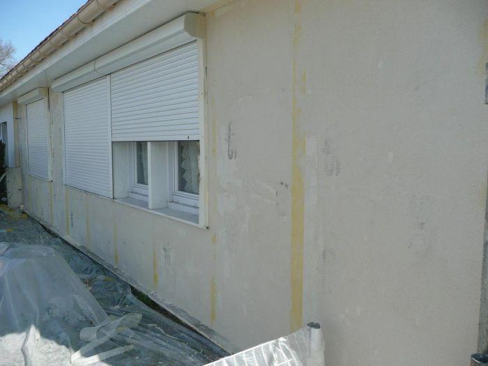GST Rénovation - Ravalement décoratif sur maison phénix 2