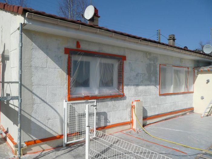 GST Rénovation - Ravalement décoratif sur maison phénix 4