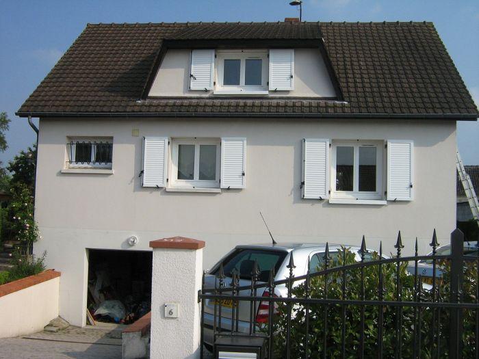 Menuiseries PVC fenêtres et volets battants