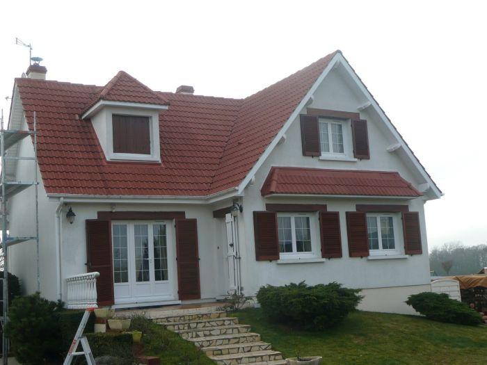 GST Rénovation - Vue après travaux de pose de dessous de toit PVC