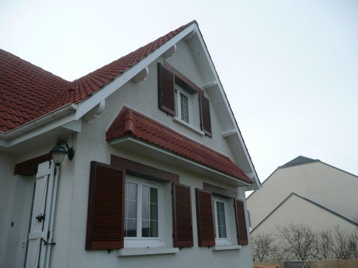 GST Rénovation - Vue après la pose de dessous de toit PVC