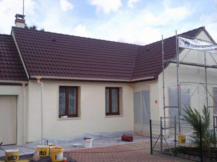 GST Rénovation - Ravalement façade maison Loiret 12
