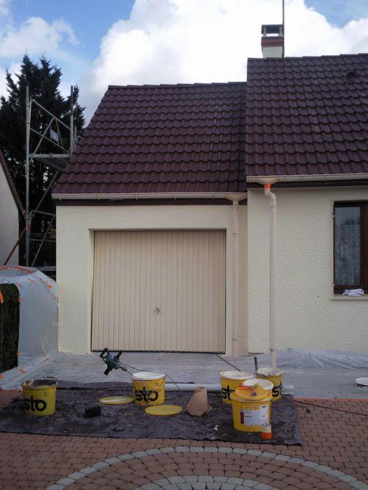 GST Rénovation - Ravalement façade maison Loiret 11