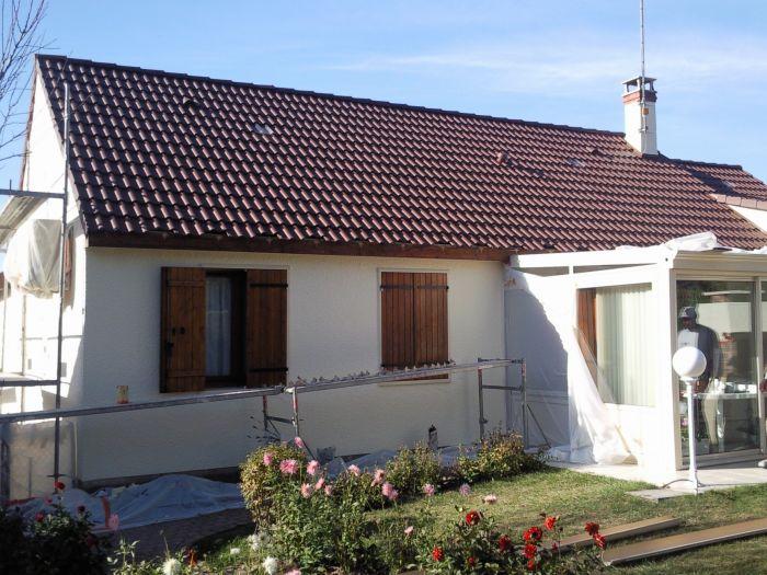 GST Rénovation - Ravalement façade maison Loiret 10