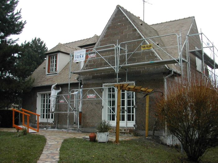 GST Rénovation - Ravalement façade Maison Eur-et-Loir 1