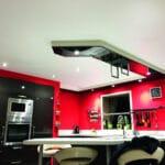 GST Rénovation - Plafond tendu cuisine
