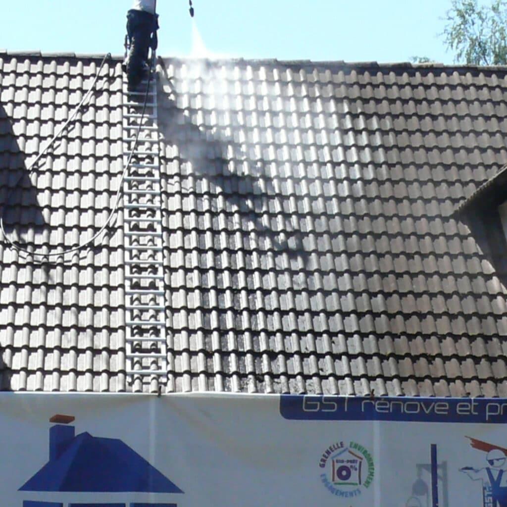 GST Rénovation - Nettoyage de la toiture dans les règles de l'art
