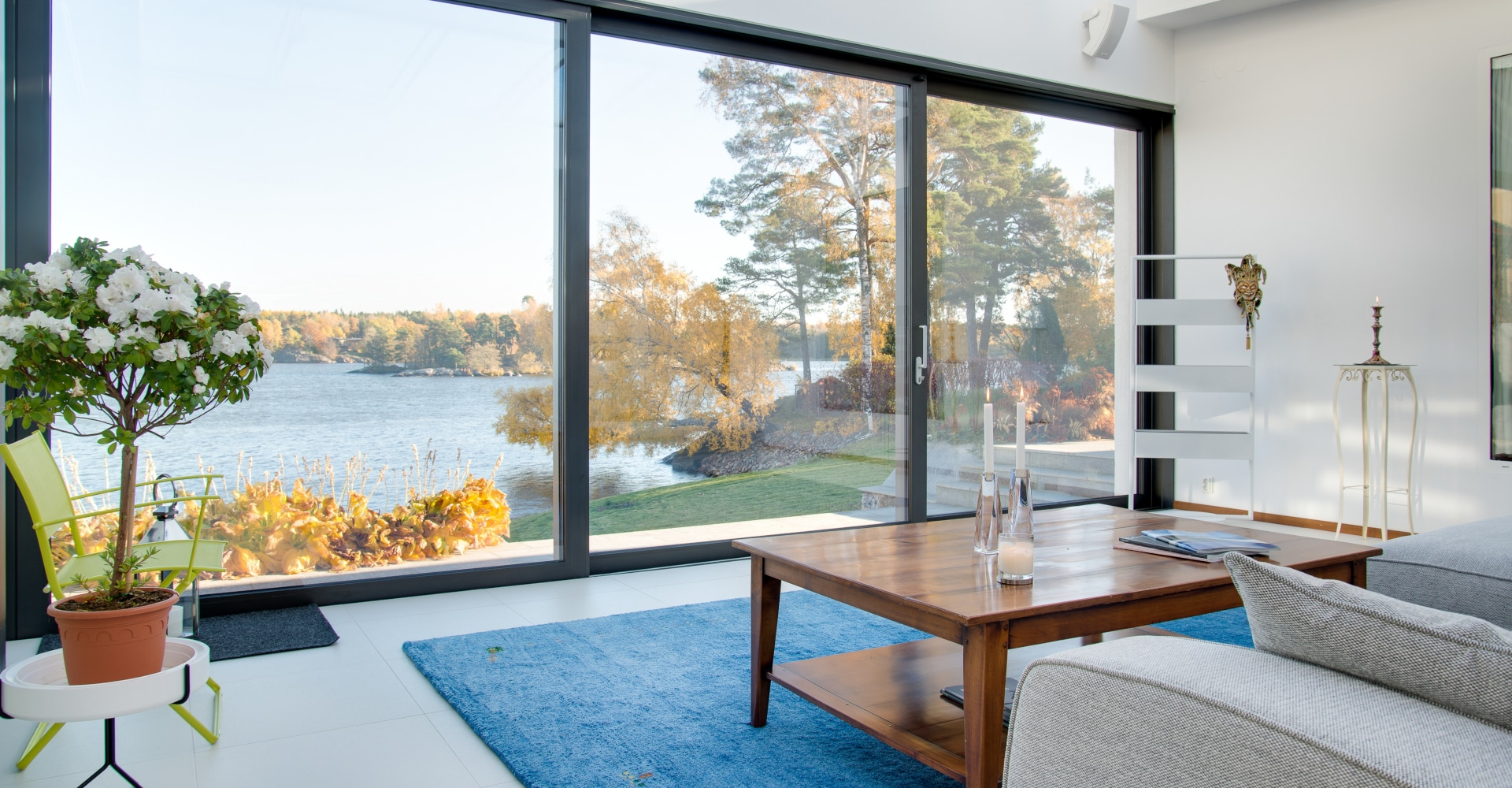 GST Rénovation - Baie vitrée sur jardin
