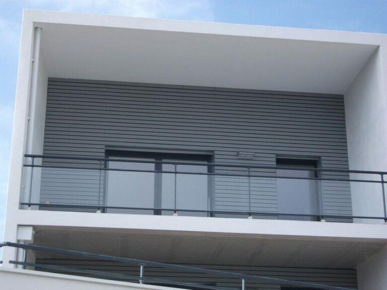 GST Rénovation - Bardage bois pour immeuble