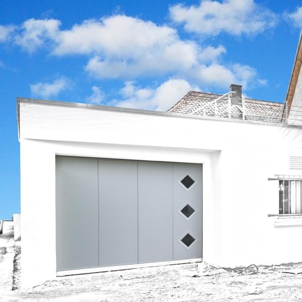 GST Rénovation - Porte de garage ALU sectionnelle