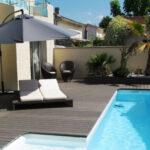 GST Rénovation - Terrasse bois composite avec piscine