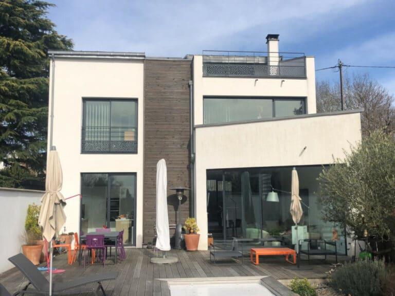 GST Rénovation - Bardage maison parisienne
