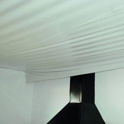 GST Rénovation - Plafond tendu cheminée 2