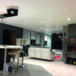 GST Rénovation - plafond tendu salon 1